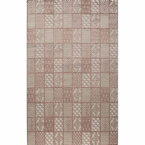 Rugs America 25981 Riviera Rust Rectangle Oriental Rug, 8 x 10 ft. Perspective: front