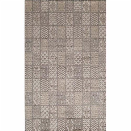 Rugs America 25985 Riviera Cream Rectangle Oriental Rug, 8 x 10 ft. Perspective: front