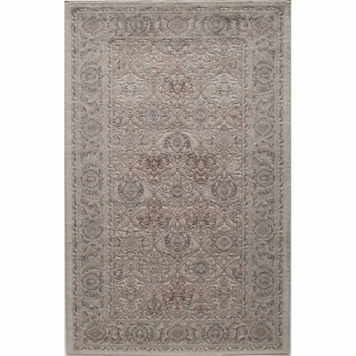 Rugs America 26039 Riviera Cream Runner Oriental Rug, 2 ft. 2 in. x 8 ft. Perspective: front