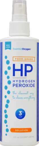 Essential Oxygen  3% Food Grade Hydrogen Peroxide Perspective: front
