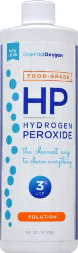 Essential Oxygen HP Hydrogen Peroxide Perspective: front