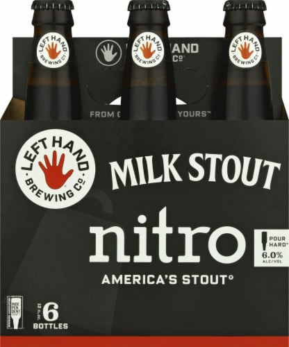 Left Hand Brewing Co. Nitro Milk Stout Perspective: front