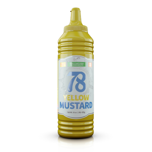 78 Mustard Mild - 4 Pack Perspective: front