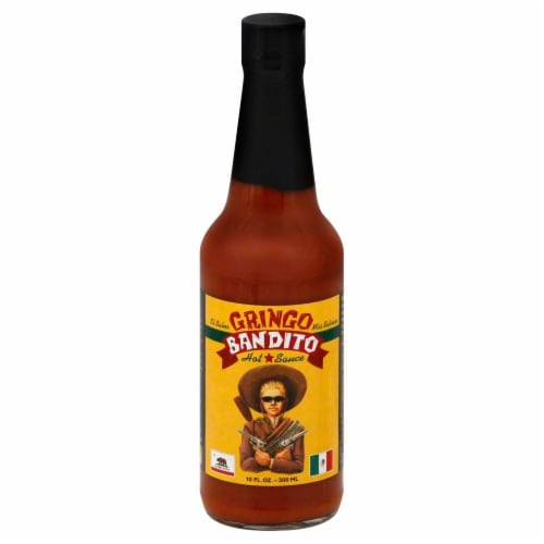 Gringo Bandito Hot Sauce Perspective: front