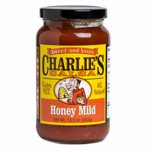 Charlie's Honey Mild Salsa Perspective: front