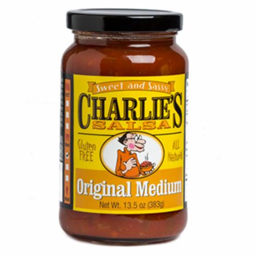 Charlie's Salsa Original Medium Perspective: front