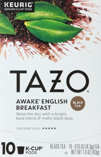 TAZO Awake English Breakfast Black Tea K-Cup Pods Perspective: front