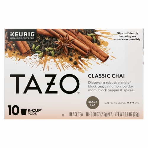 TAZO Chai Black Tea K-Cup Pods Perspective: front