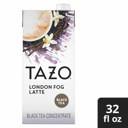 Tazo® London Fog Latte Black Tea Concentrate Perspective: front