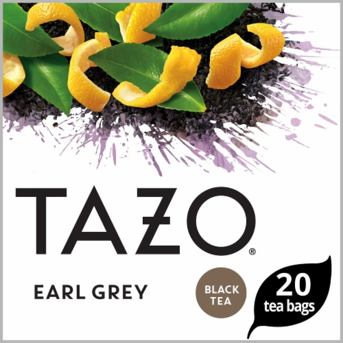 Tazo Earl Grey Black Tea Bags Perspective: front
