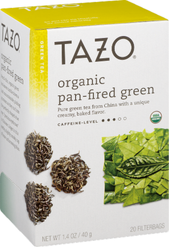 Tazo Organic Envy Green Tea Perspective: front