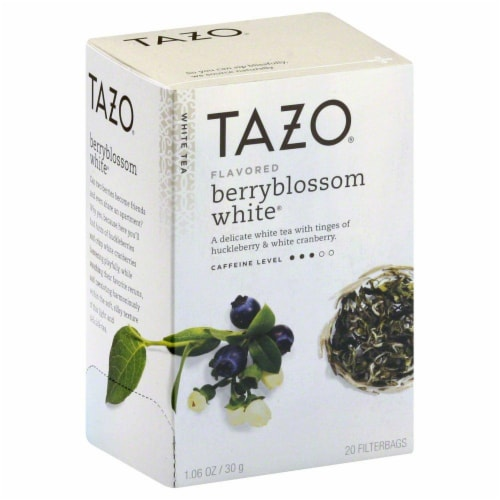 Tazo Berry Blossom Tea Perspective: front