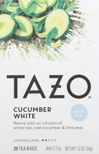 Tazo Cucumber White Tea Perspective: front