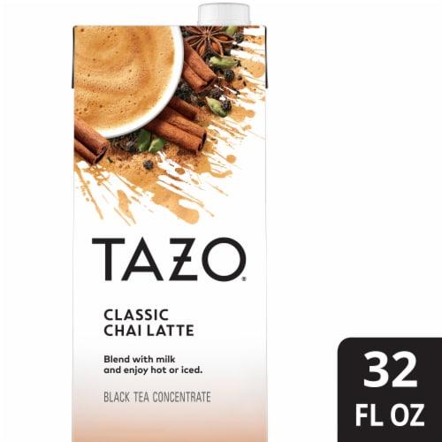 Tazo Classic Chai Latte Black Tea Concentrate Perspective: front