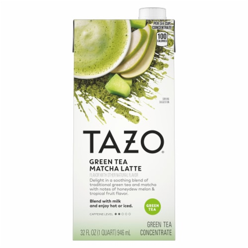 Tazo Green Tea Latte Perspective: front