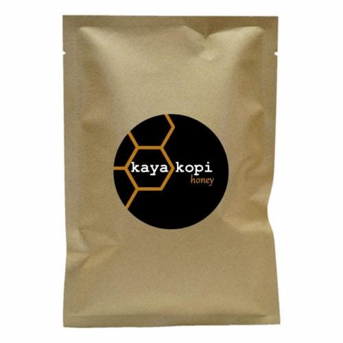 Premium Kaya Kopi Honey Whole Coffee Beans (10 Grams) Perspective: front