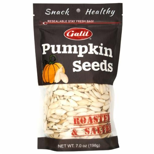Galil Roasted & Salted Pumpkin Seeds Perspective: front