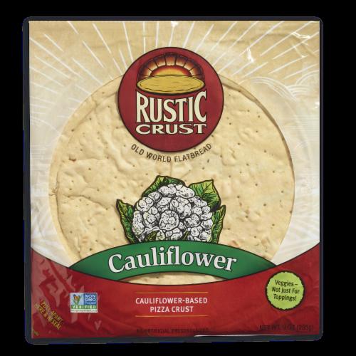 Rustic Crust Cauliflower Crust Perspective: front