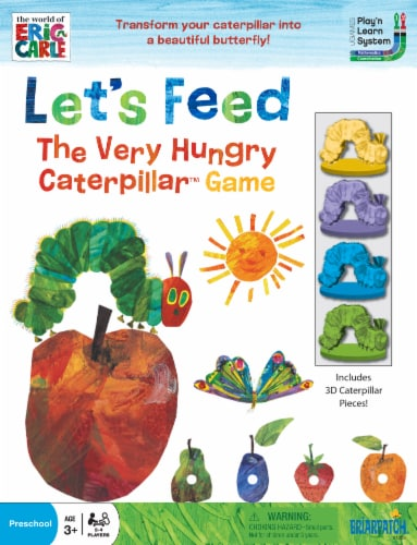 University Games Let's Feed The Very Hungry Caterpillar Game Perspective: front