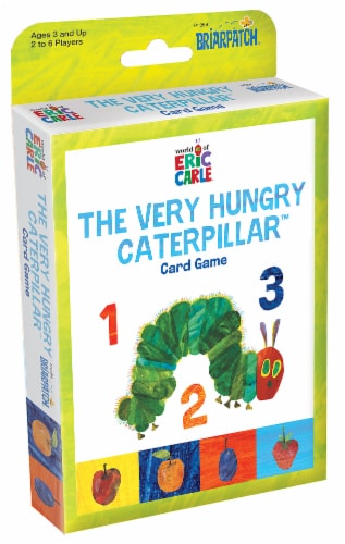 Briarpatch World of Eric Carle The Very Hungry Caterpillar Card Game Perspective: front