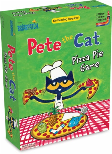 University Games Pete the Cat Pizza Pie Board Game Perspective: front