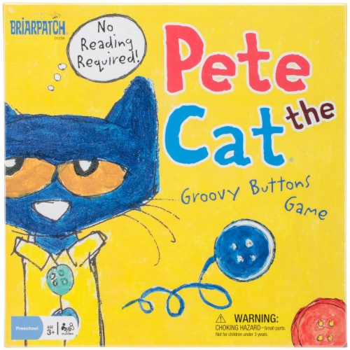 University Games BP01256 Pete the Cat Groovy Buttons Game Perspective: front