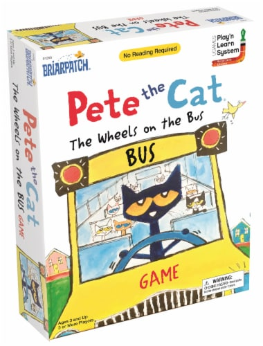 University Games Pete the Cat Wheels on the Bus Game Perspective: front