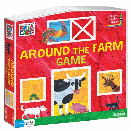 University Games BP01259 Eric Carle Around the Farm Game Perspective: front