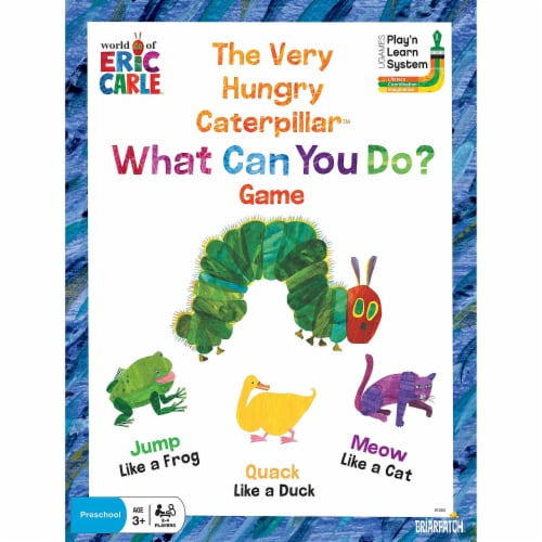 University Games UG-01263 The Very Hungry Caterpllar What Can You Do Game Perspective: front