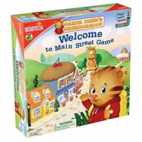 University Games UNV01350 DTN Welcome To Main Street Game Perspective: front