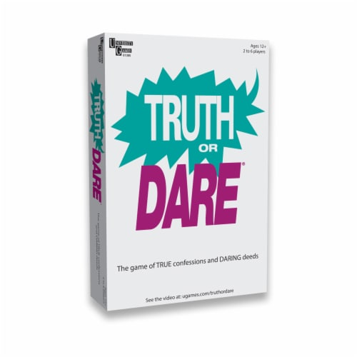 University Games Truth or Dare Card Game Perspective: front