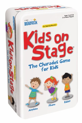 University Games Kids On Stage Charades Game for Kids Perspective: front