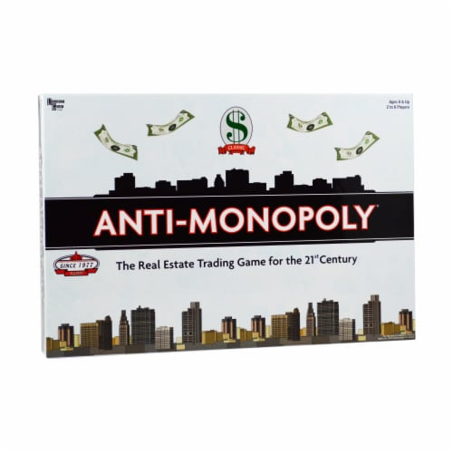 University Games Anti Monopoly Perspective: front