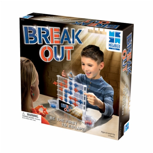 Megableu USA Break Out Board Game Perspective: front