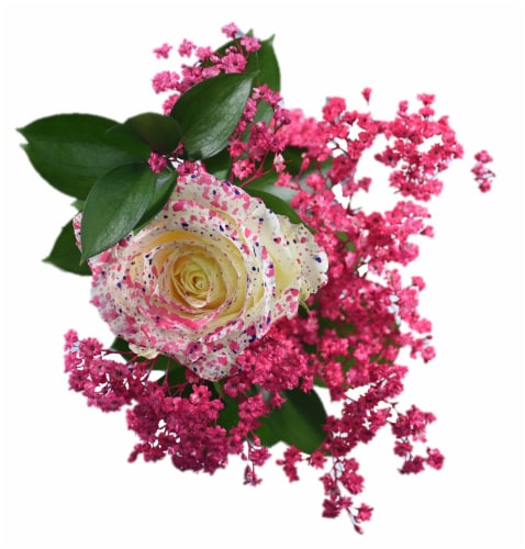 Konfetti Rose Bouquet Perspective: front