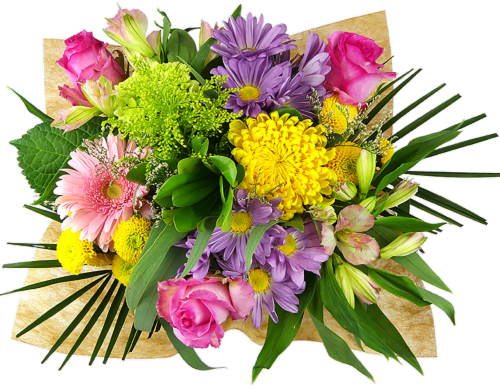 Rhapsody Melody of Colors Mixed Bouquet Perspective: front