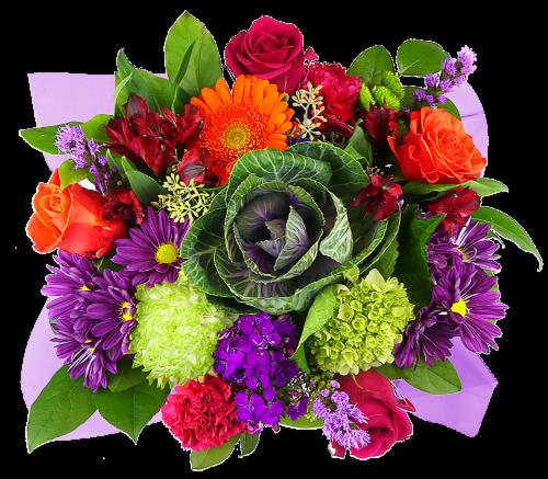 Concerto Seasonal Tones Mixed Bouquet Perspective: front