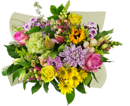 Concerto Melody of Colors Mixed Bouquet Perspective: front