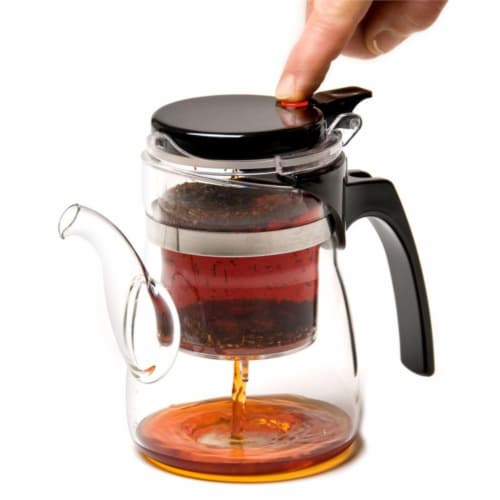 Supreme Housewares One Touch Single Serve Teapot Perspective: front