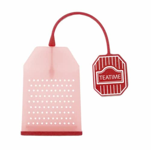 Supreme Housewares Red Tea Bag Perspective: front