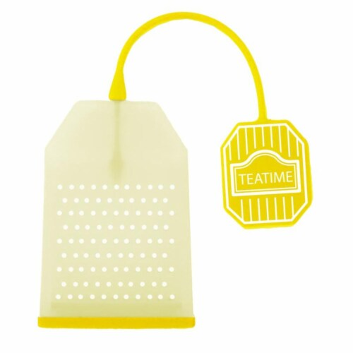 Supreme Housewares Yellow Tea Bag Perspective: front