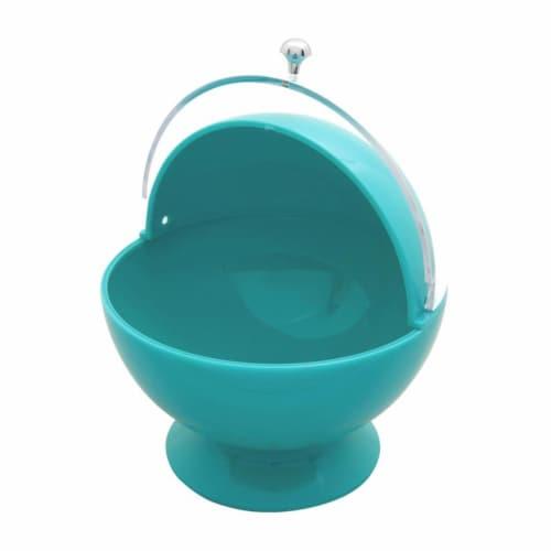 Supreme Housewares Sugar Bowl, Blue Perspective: front