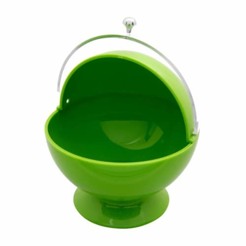 Supreme Housewares Sugar Bowl, Green Perspective: front