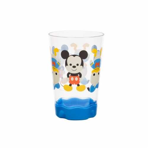Supreme Housewares 73304 2 Piece Mickey Mouse Plastic Cups; 9 oz Perspective: front