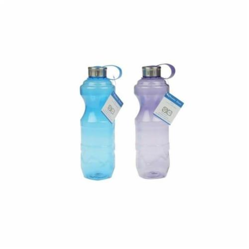 DDI 2328457 1 Liter Plastic Sport Bottle, Assorted Color - Case of 24 Perspective: front