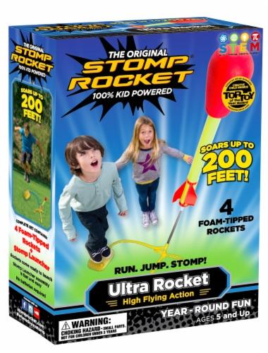 Stomp Rocket® Original Ultra Rocket Perspective: front