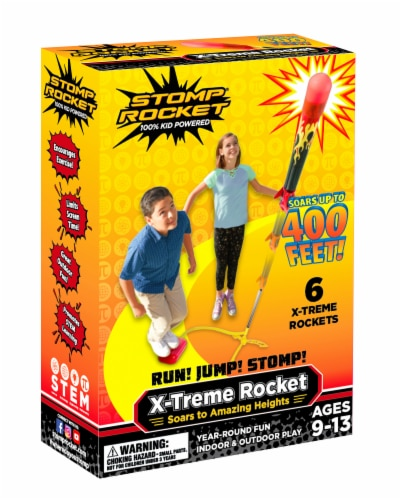 Stomp Rocket X-Treme Rocket Launcher Toy Perspective: front