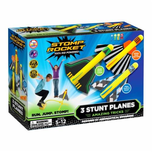 Stomp Rocket® Stunt Planes Perspective: front