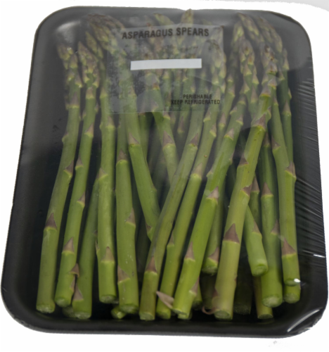 Crazy Fresh Asparagus Spears Perspective: front