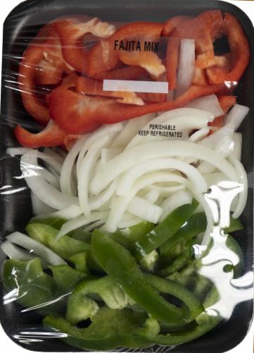 Crazy Fresh Vegetable Fajita Mix Perspective: front